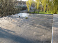 institutional EPDM roof photo