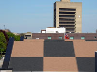 commercial shingle roof photo